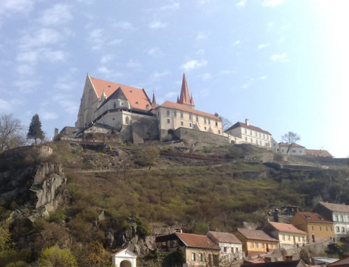 Znojmo Castle and Rotunda of St. Catherine
